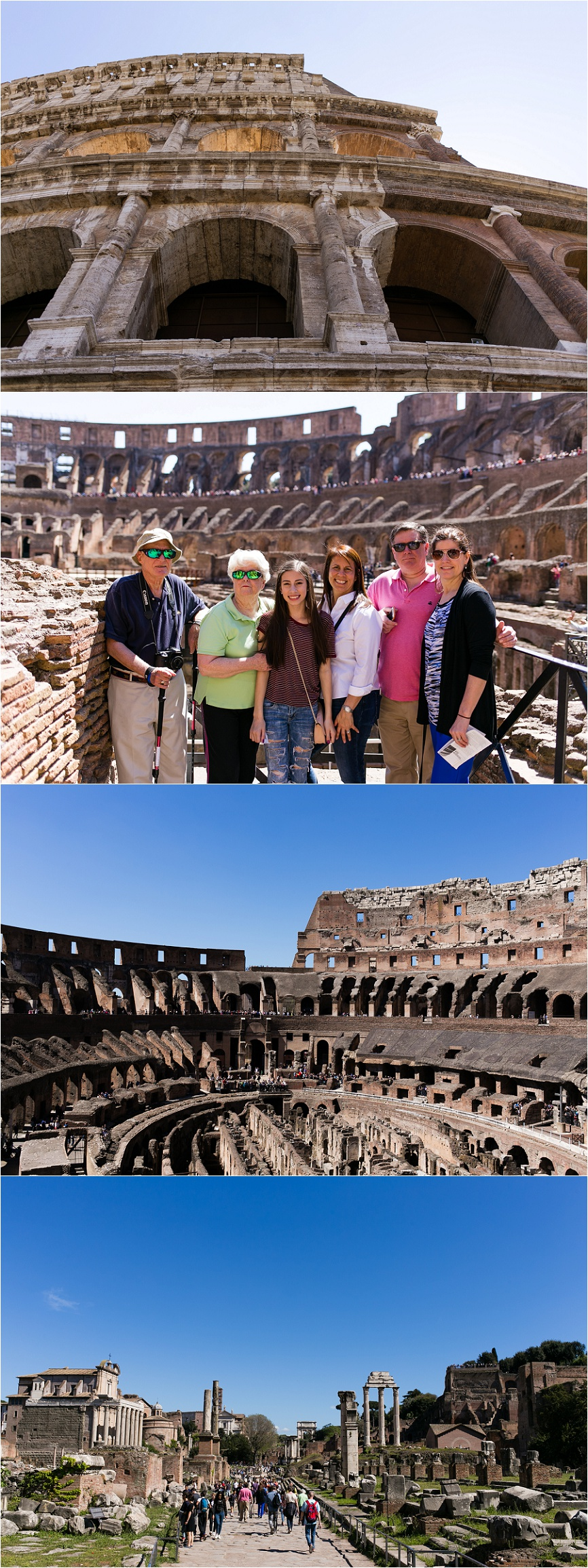 sentimental family trip rome, italy