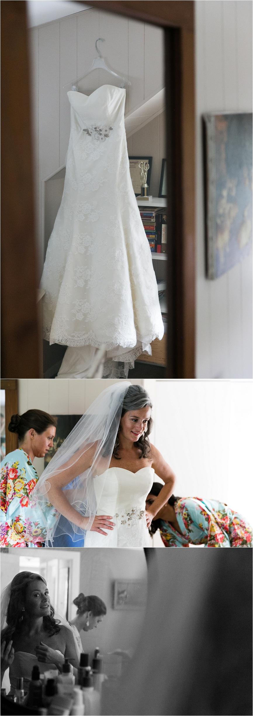 ct outdoor wedding bride