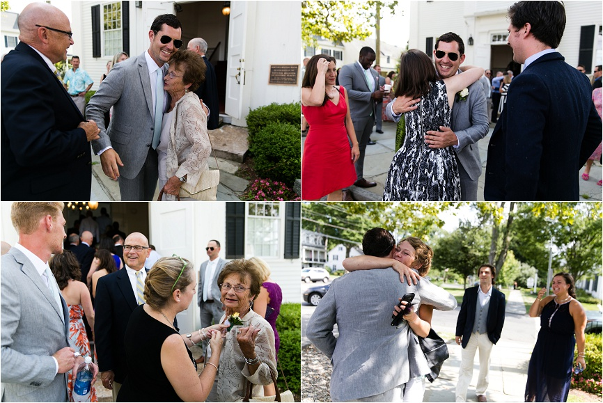 ct wedding outdoor celebration