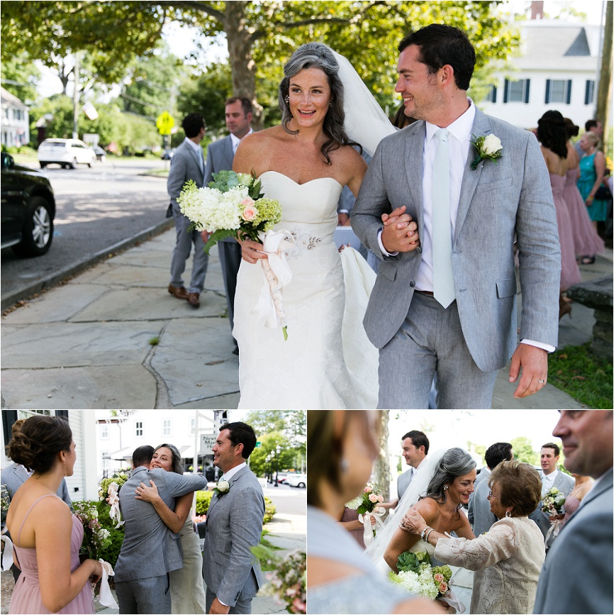 outdoor wedding celebration ct
