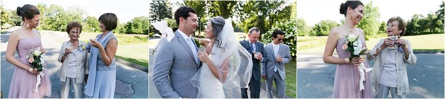 bride and groom ct outdoor wedding
