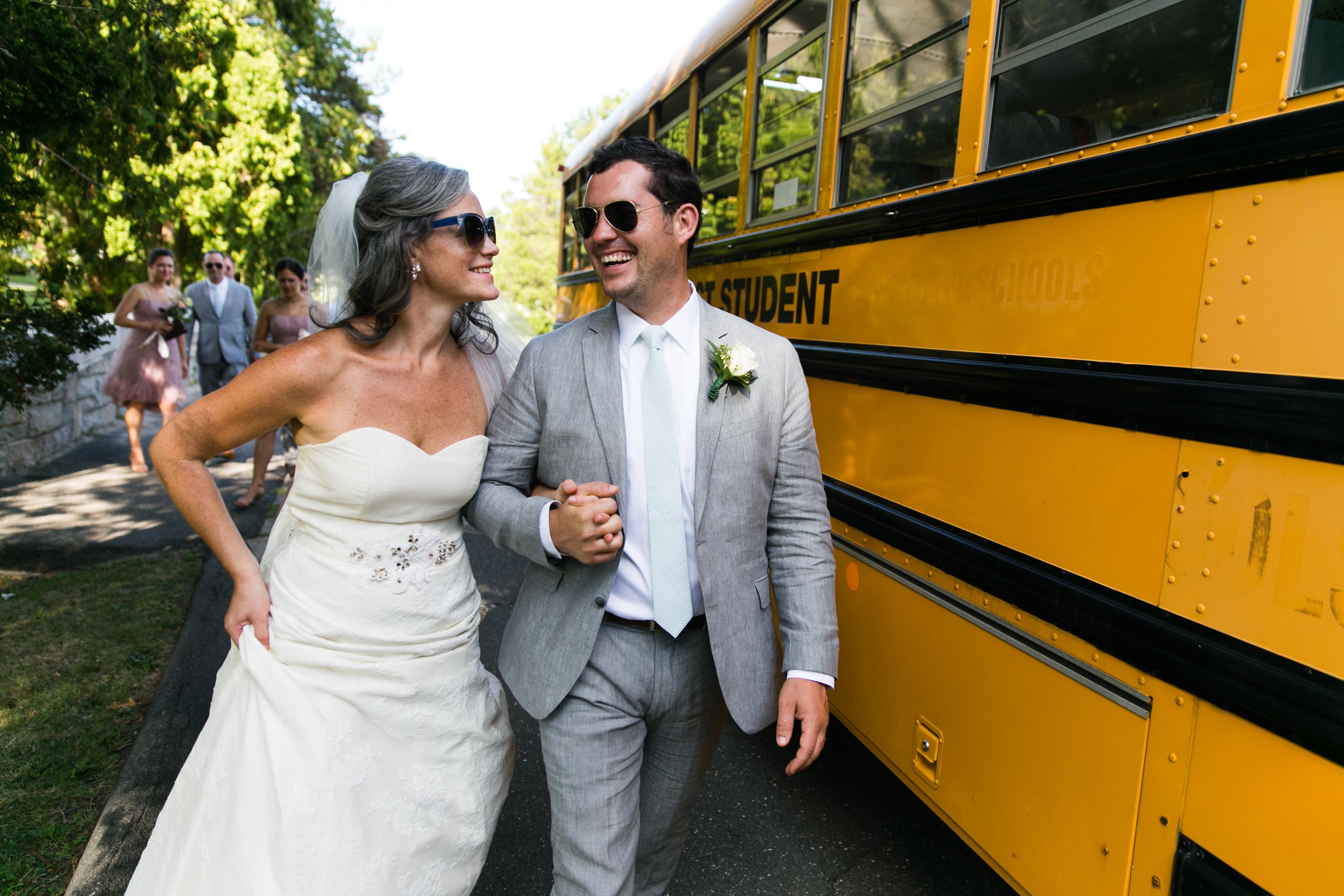 ct bride and groom outdoor wedding