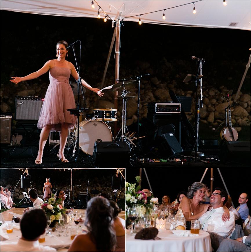 backyard ct outdoor wedding reception
