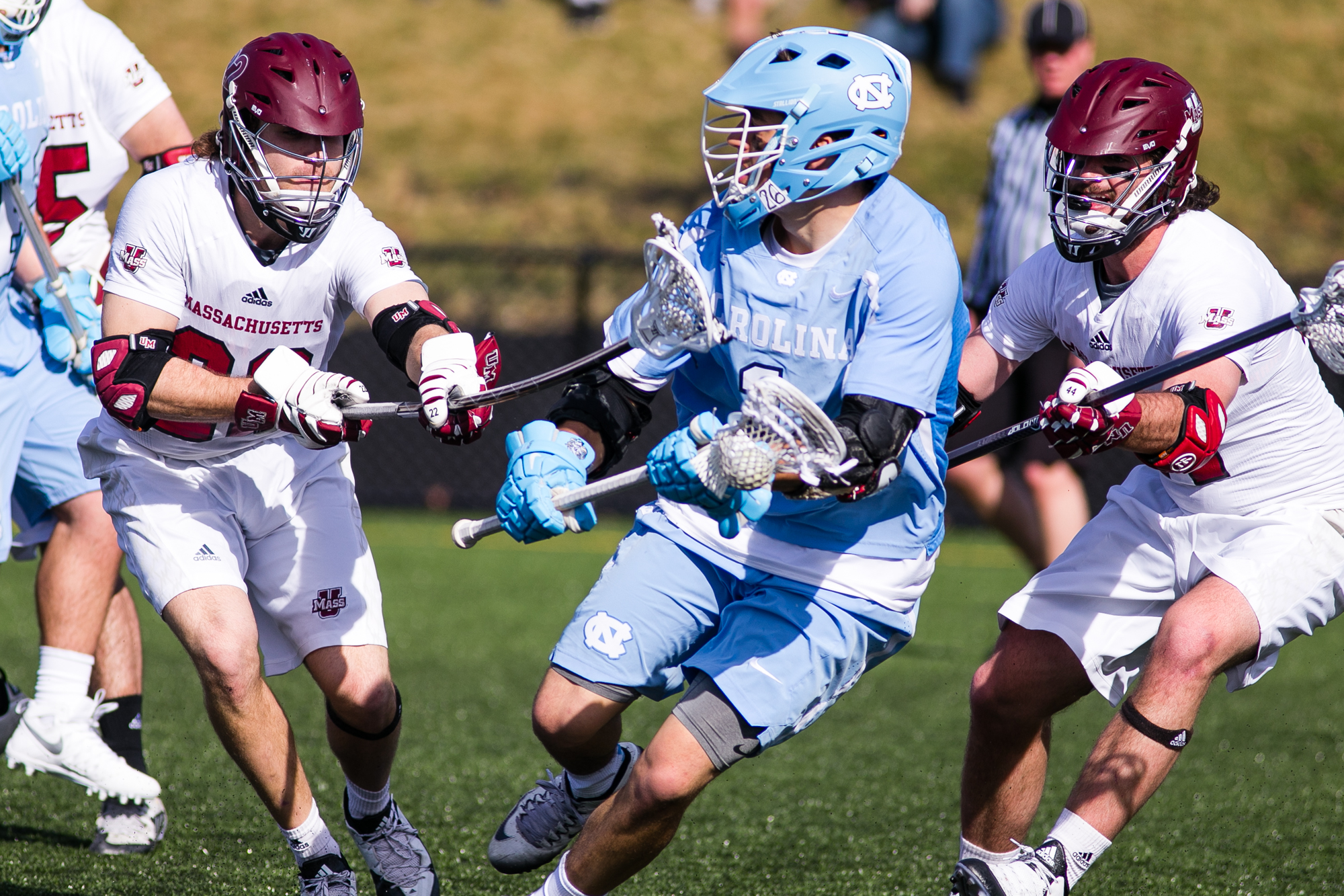 After the North Carolina lacrosse team lost to UMASS in March of 2016 they went a run to the National Championship.