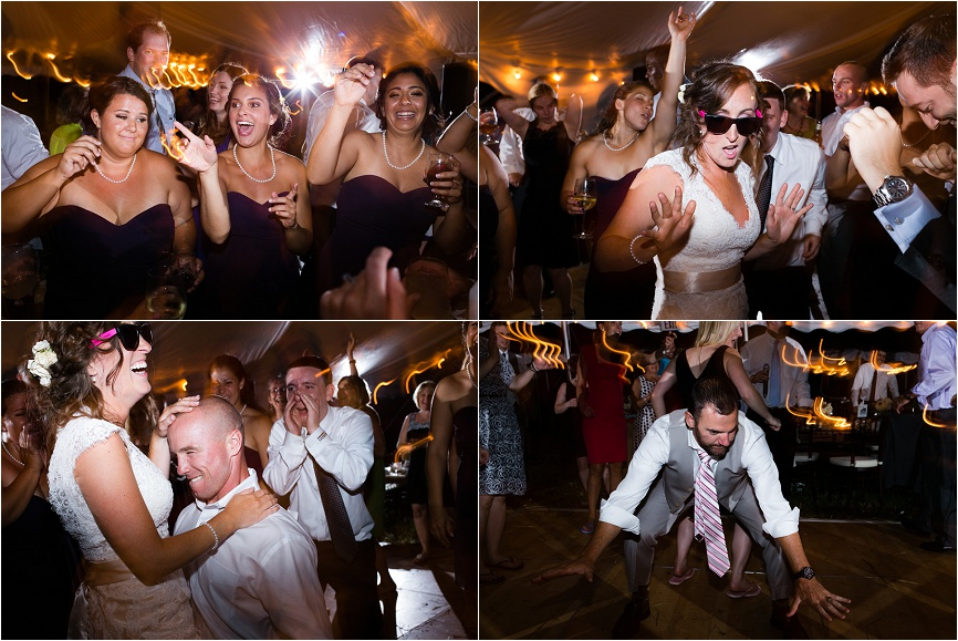 I just love capturing the spirited action on the wedding reception dance floor