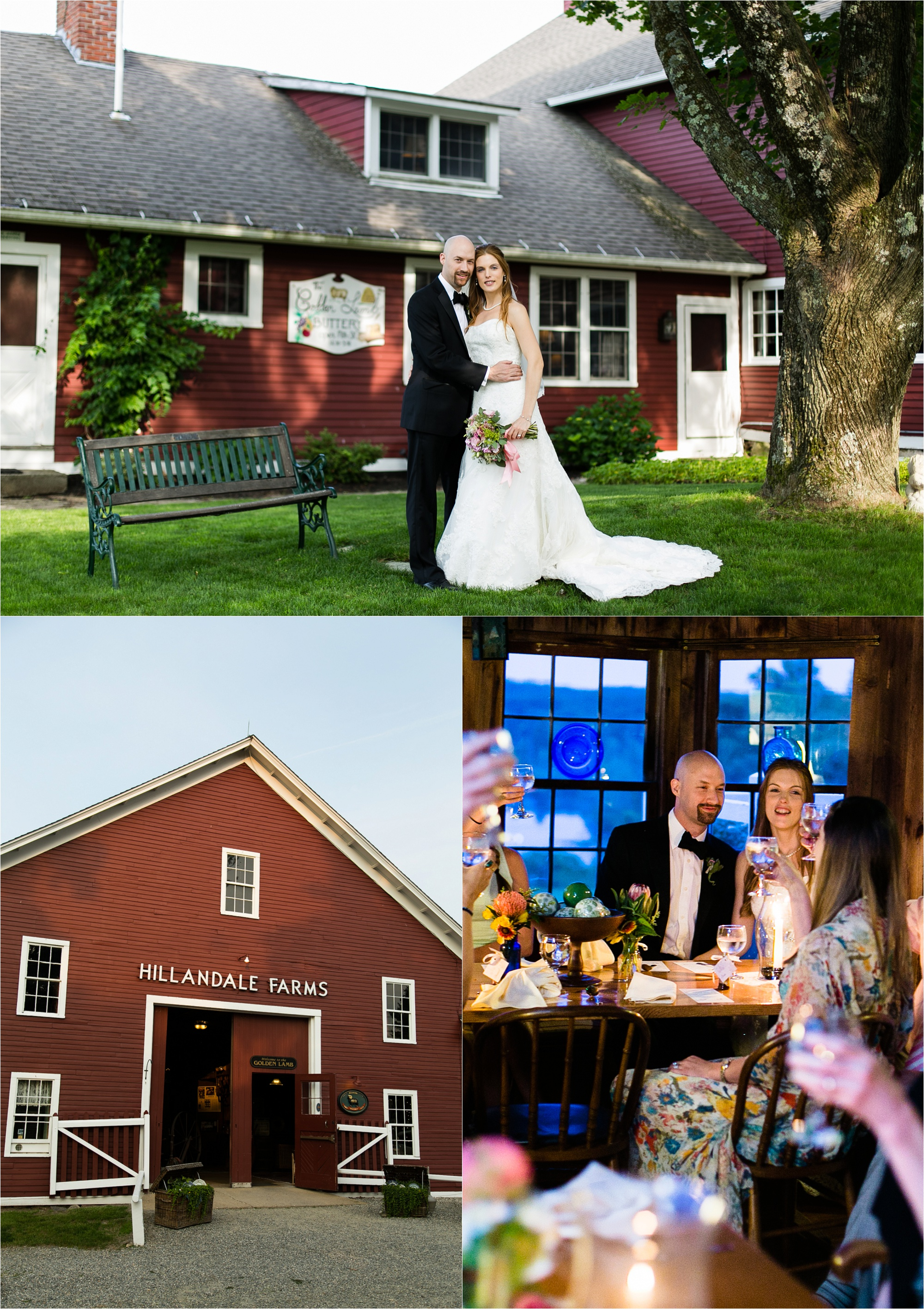 Photo of the Golden Lamb Buttery barn wedding venue in Brooklyn, CT